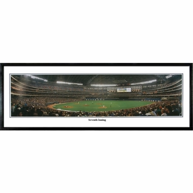 Toronto Blue Jays 7th Inning Framed Panoramic Print