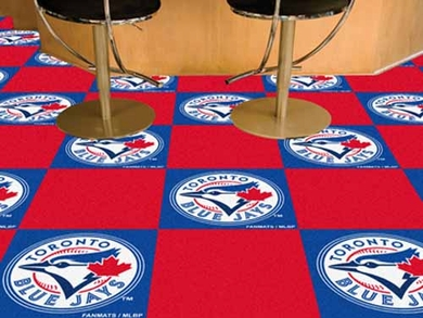 Toronto Blue Jays Carpet Tiles