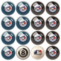 Toronto Blue Jays Home and Away Complete Billiard Ball Set