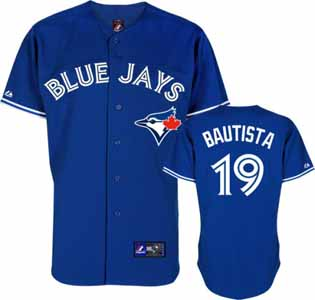 Toronto Blue Jays Jose Bautista Replica Player Jersey (Alternate) - Large