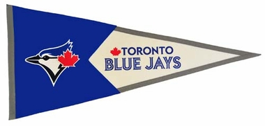 Toronto Blue Jays Large Wool Pennant