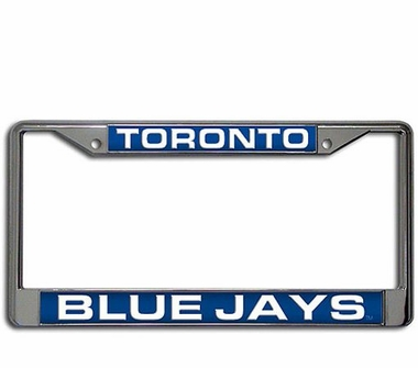 Toronto Blue Jays Laser Etched Chrome License Plate Frame
