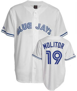 Toronto Blue Jays Paul Molitor Replica Throwback Jersey - Large