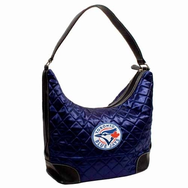 Toronto Blue Jays Quilted Hobo Purse
