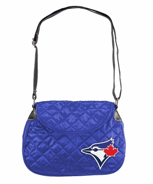 Toronto Blue Jays Quilted Saddlebag