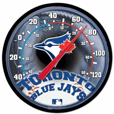 Toronto Blue Jays Round Wall Thermometer