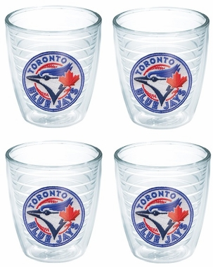 Toronto Blue Jays Set of FOUR 12 oz. Tervis Tumblers