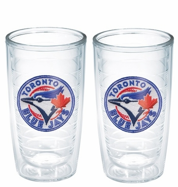 Toronto Blue Jays Set of TWO 16 oz. Tervis Tumblers