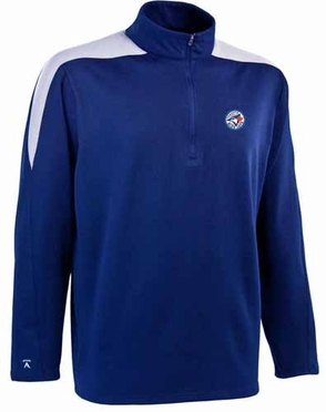 Toronto Blue Jays Mens Succeed 1/4 Zip Performance Pullover (Team Color: Royal)