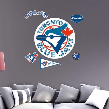 Toronto Blue Jays Throwback Logo Fathead Wall Graphic
