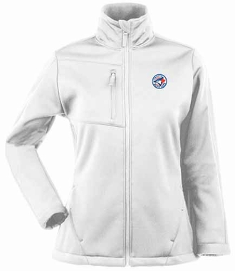 Toronto Blue Jays Womens Traverse Jacket (Color: White)