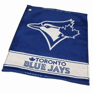 Toronto Blue Jays Woven Golf Towel