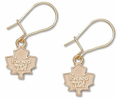 Toronto Maple Leafs 14K Gold Post or Dangle Earrings
