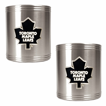 Toronto Maple Leafs 2 Can Holder Set