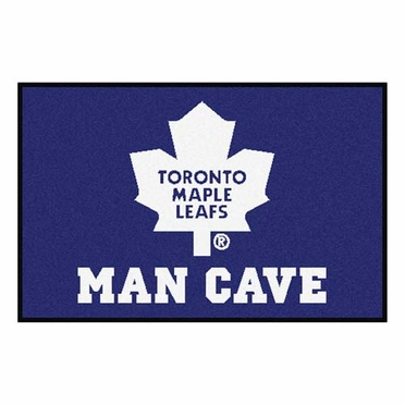 Toronto Maple Leafs 20 x 30 Man Cave Rug