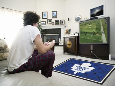 Toronto Maple Leafs 4 Foot x 6 Foot Rug