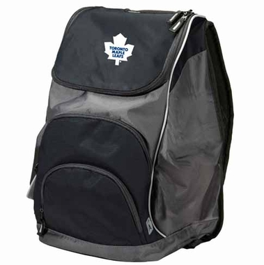 Toronto Maple Leafs Action Backpack (Color: Black)