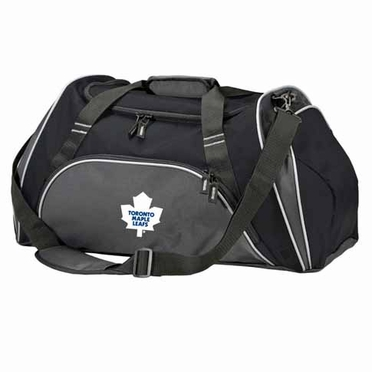 Toronto Maple Leafs Action Duffle (Color: Black)