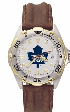 Toronto Maple Leafs All Star Mens (Leather Band) Watch