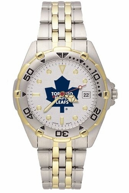 Toronto Maple Leafs All Star Mens (Steel Band) Watch