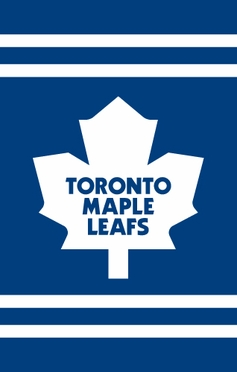 Toronto Maple Leafs Applique Banner Flag