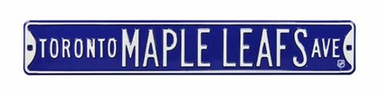 Toronto Maple Leafs Ave Street Sign