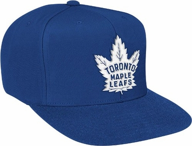 Toronto Maple Leafs Basic Logo Snap Back Hat