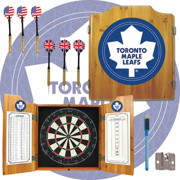 Toronto Maple Leafs Complete Dart Cabinet