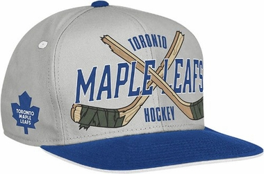 Toronto Maple Leafs Cross Sticks Snap back Hat