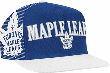Toronto Maple Leafs Double Graphic Laser Stitched Snap Back Hat