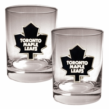 Toronto Maple Leafs Double Rocks Set