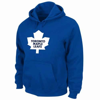 Toronto Maple Leafs Felt Tek Patch Blue Hooded Sweatshirt