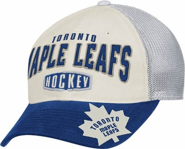 Toronto Maple Leafs Garment Washed Meshback Flex Slouch Hat