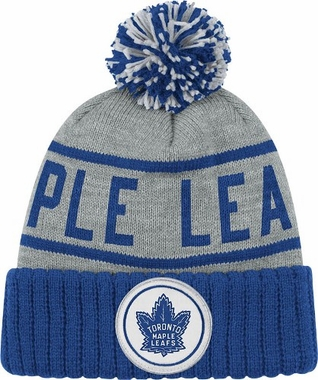 Toronto Maple Leafs High 5 Vintage Cuffed Pom Hat