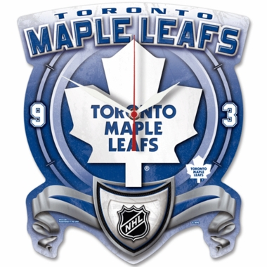 Toronto Maple Leafs High Definition Wall Clock