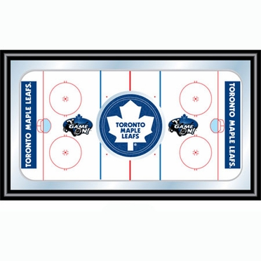 Toronto Maple Leafs Hockey Bar Mirror