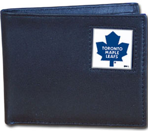 Toronto Maple Leafs Leather Bifold Wallet (F)