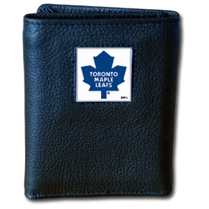 Toronto Maple Leafs Leather Trifold Wallet