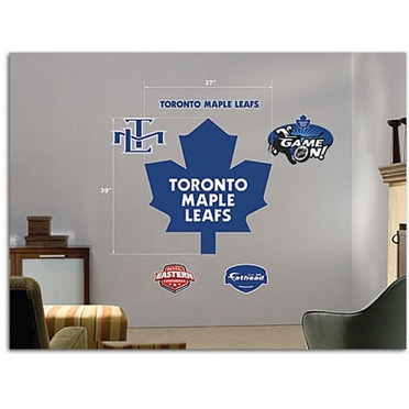 Toronto Maple Leafs Logo Fathead Wall Graphic