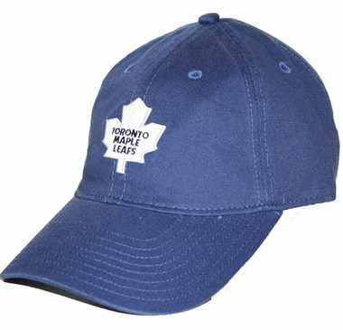 Toronto Maple Leafs Logo Team Slouch Adjustable Hat