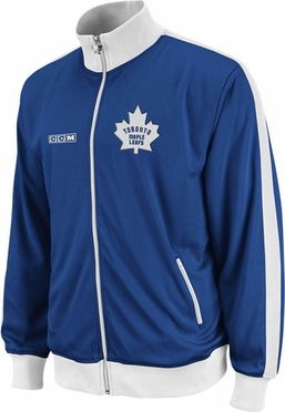 Toronto Maple Leafs Lord Stanley Full Zip Championship Track Jacket