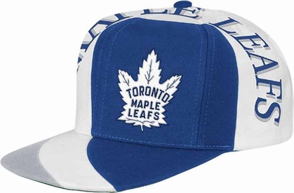 Toronto Maple Leafs Mitchell & Ness The Swirl Retro Vintage Snap Back Hat