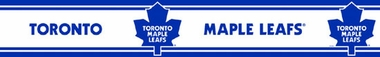 Toronto Maple Leafs Peel and Stick Wallpaper Border