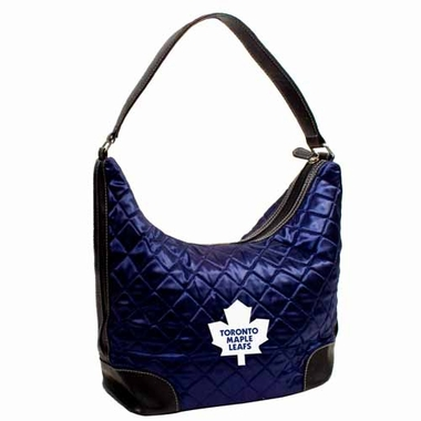 Toronto Maple Leafs Quilted Hobo Purse