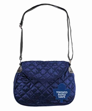Toronto Maple Leafs Quilted Saddlebag