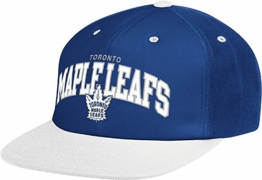 Toronto Maple Leafs Retro Arch Snapback Hat