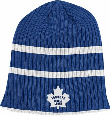 Toronto Maple Leafs Retro Reversible Cuffless Knit Hat