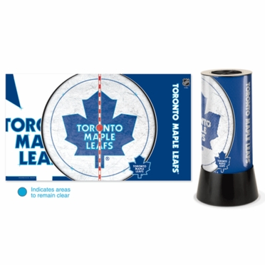 Toronto Maple Leafs Rotating Lamp