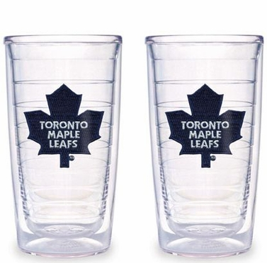 Toronto Maple Leafs Set of TWO 16 oz. Tervis Tumblers