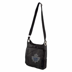 Toronto Maple Leafs Sport Noir Sheen Crossbody Bag